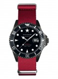 Moby Black Red 40